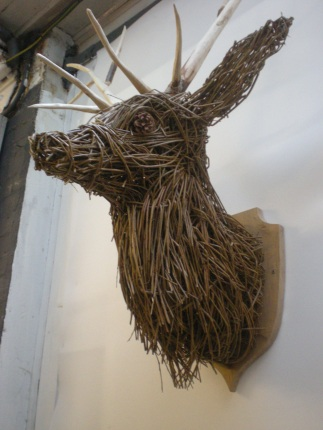 stag trophy side